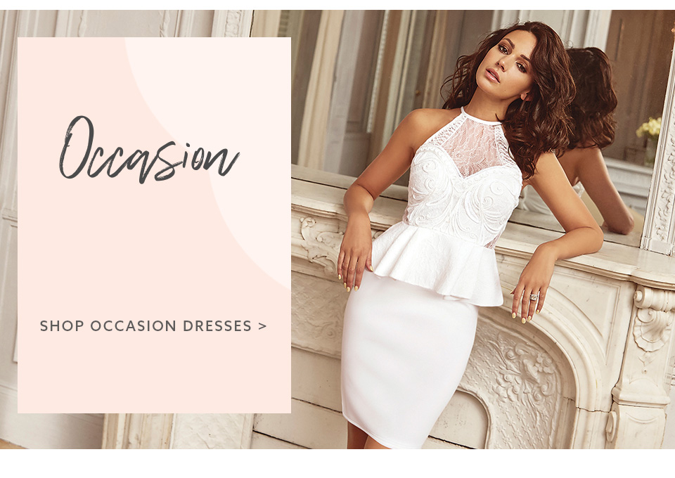 Browse the latest collection of occasion dresses for women here