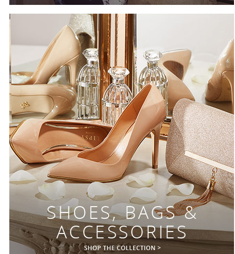 Shop the trendy collection of bags,shoes & accessories for women here