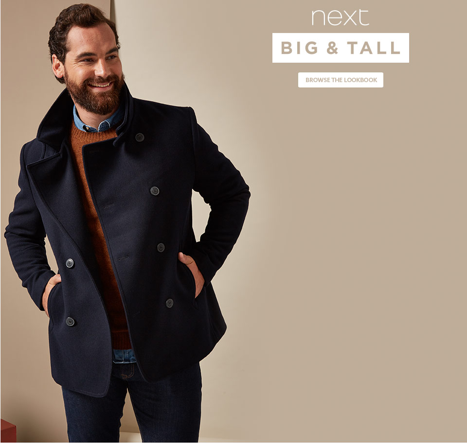 big collections big mens clothing next official