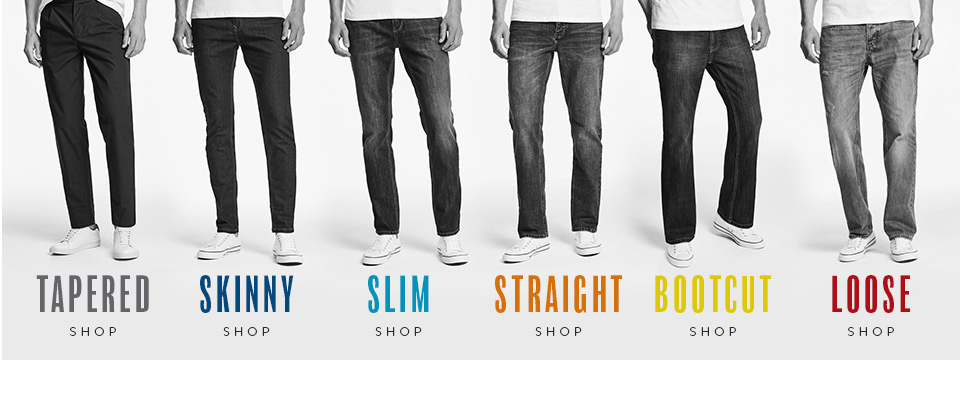 How to fit in skinny jeans
