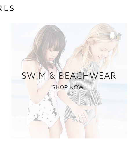 Shop the latest collection of girls swimwear here