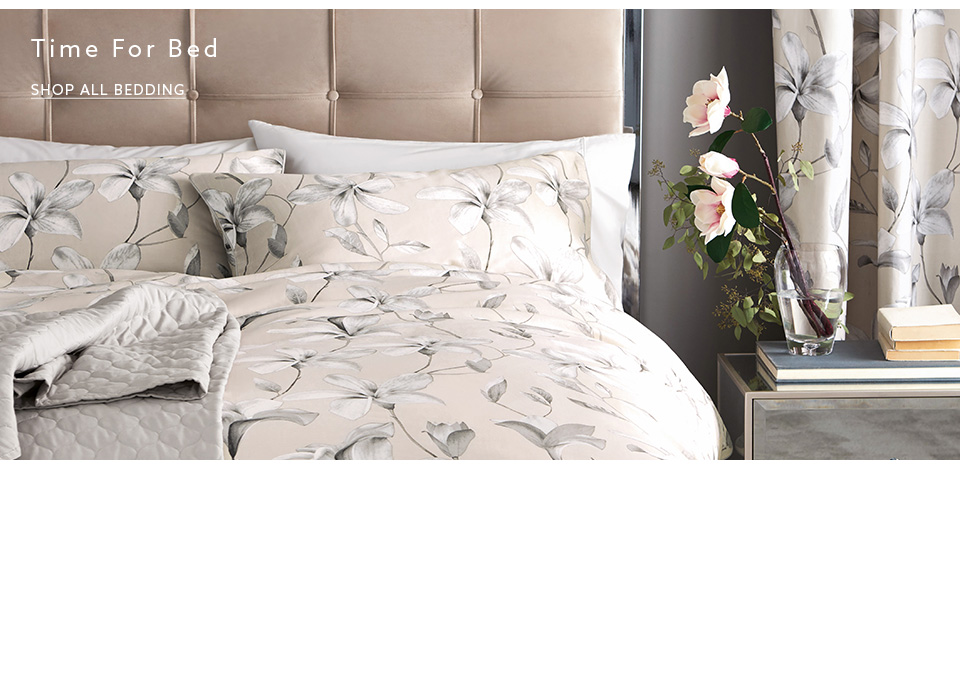 Shop the luxurious collection of bedding here