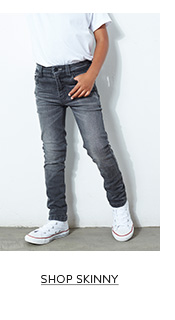 Shop the latest collection of skinny fit jeans for boys here