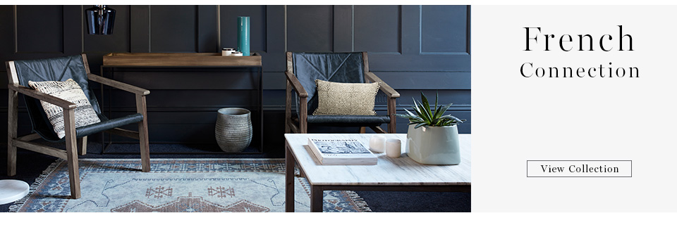 Shop here for the latest french connection collection for living room here