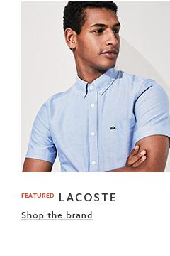Browse Label Men - Lacoste