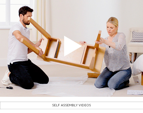 Homeware Tips & Advice - Self Assembly Videos