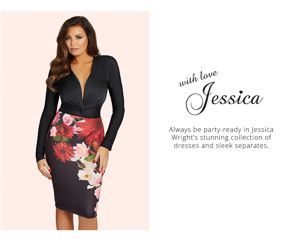 Shop Lipsy & Co Hottest Party Looks - Jessica Wright here