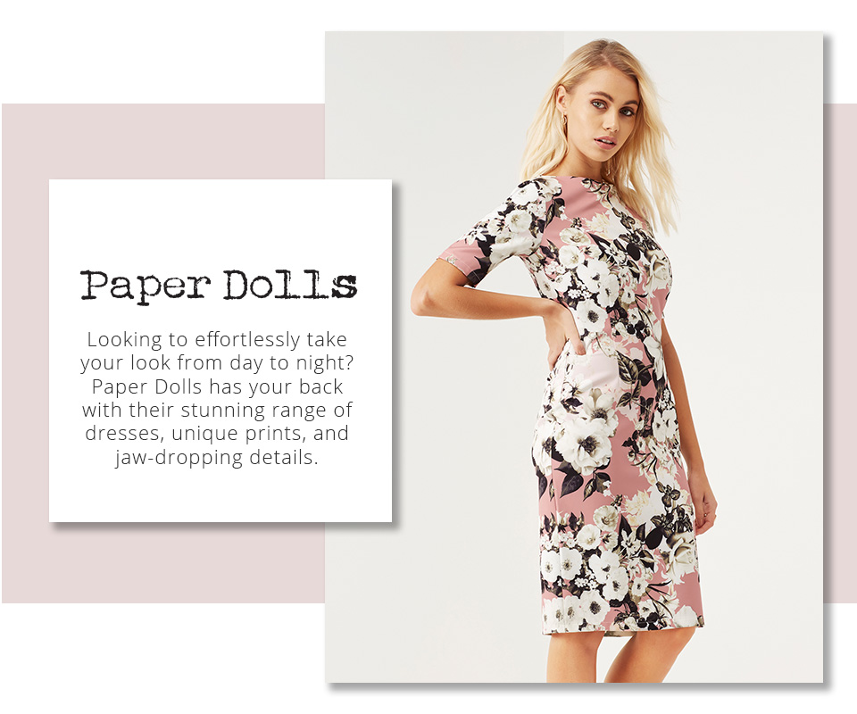 Shop Lipsy & Co Hottest Party Looks - Paper Dolls here