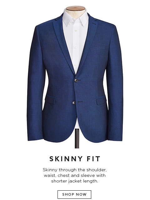 Mens Suit Fit Guide | Tailoring Tips | Next Official Site