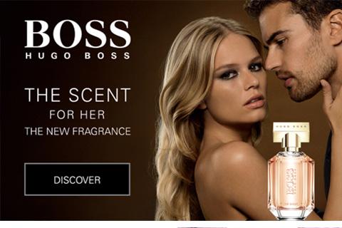 Shop Womens Fragrance & Beauty - Hugo Boss here