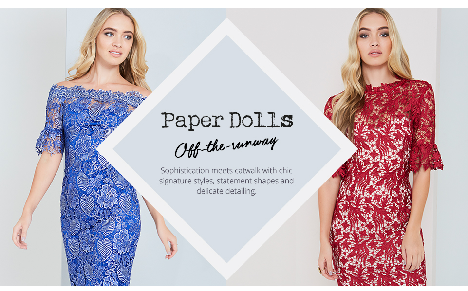 Shop Lipsy Occasion - Paper Dolls here