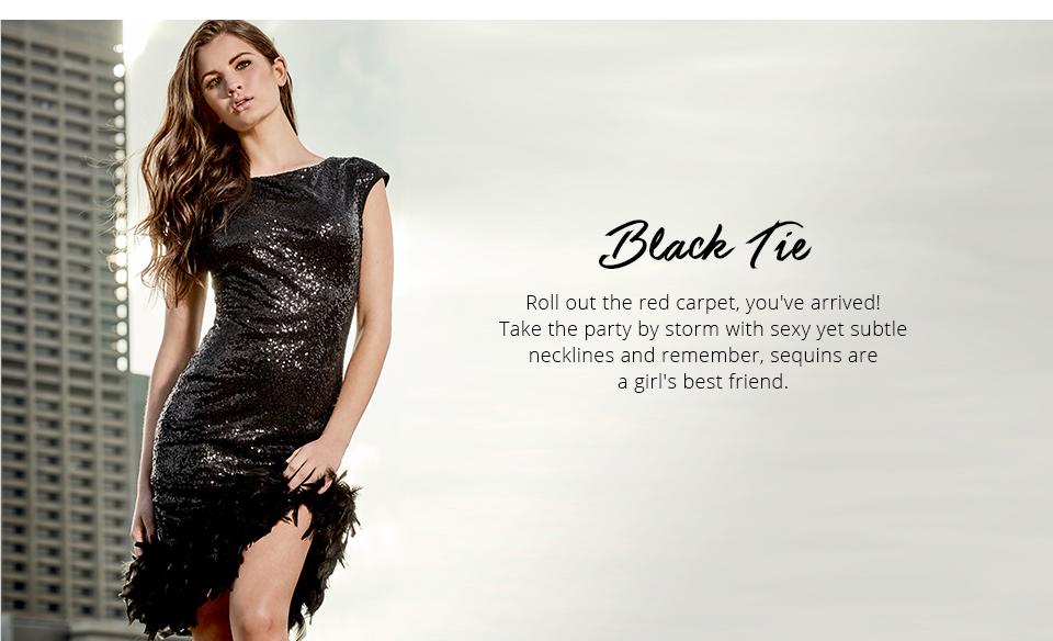 Shop Lipsy Occasion -Black Tie here