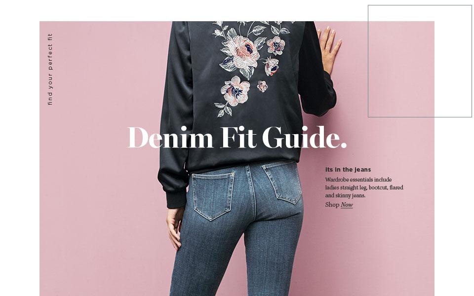 Denim Fit Guide