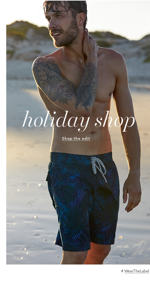 Browse Label Men - Holiday Shop