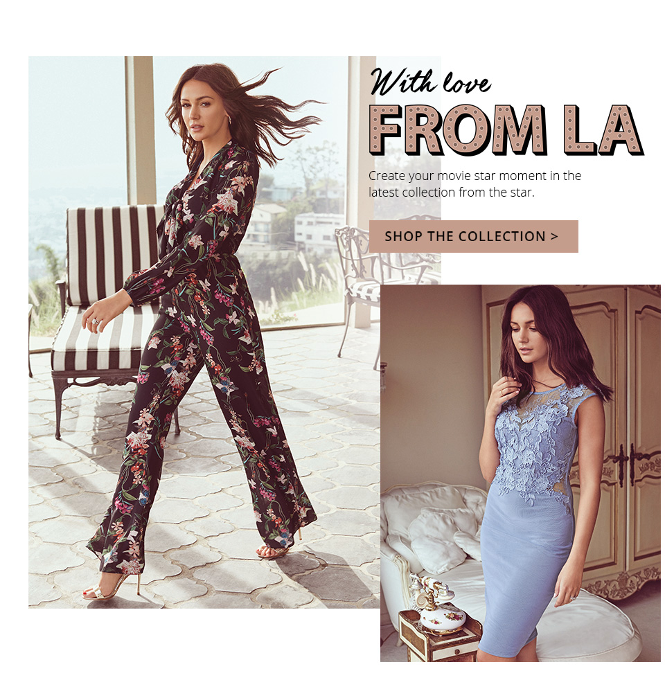 With gorgeous dresses to going out tops, get the look with the new Lipsy collections and Love Michelle Keegan range.