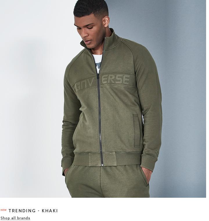 Browse Label Mens Sports - Trending Khaki