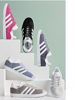 Take a look at these fashionable womens trainer collection.