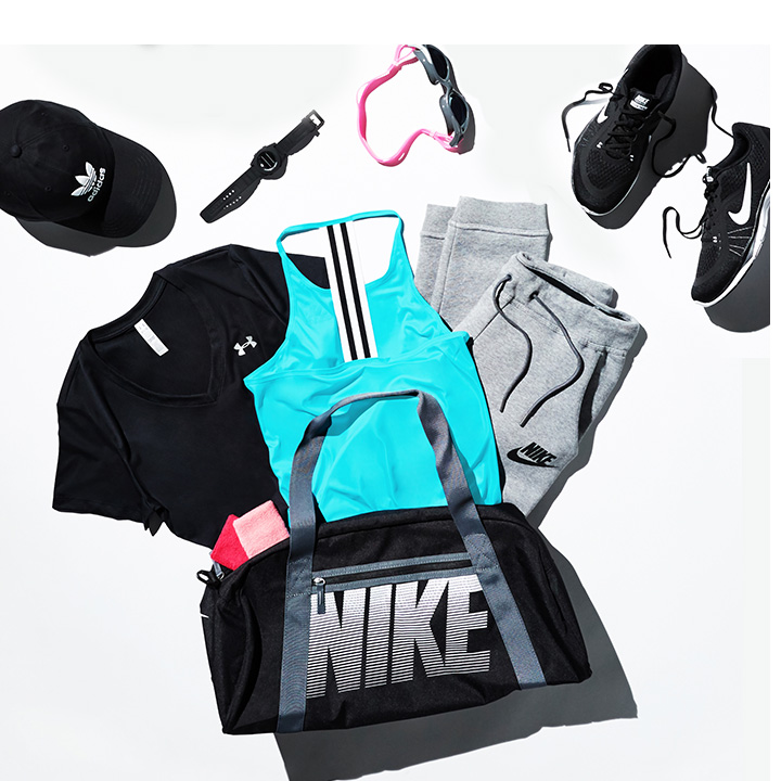 Browse here for the gym bag essentials.