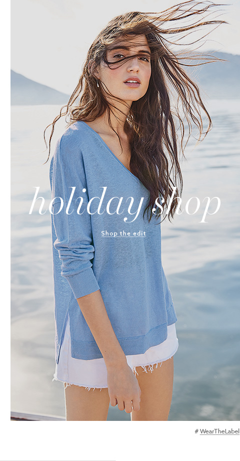 Browse Label  - Holiday Shop