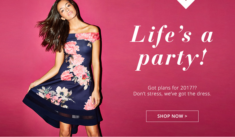 Shop Lipsy & Co - Life's A Party here