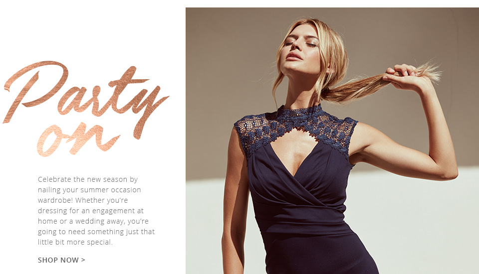 Browse The latest party looks from Lipsy & co