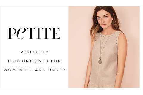 Shop women petite collection here