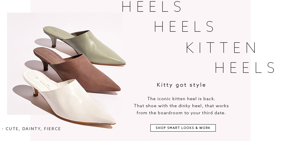 Browse Womens Shoe Collections - Smart Looks & Work