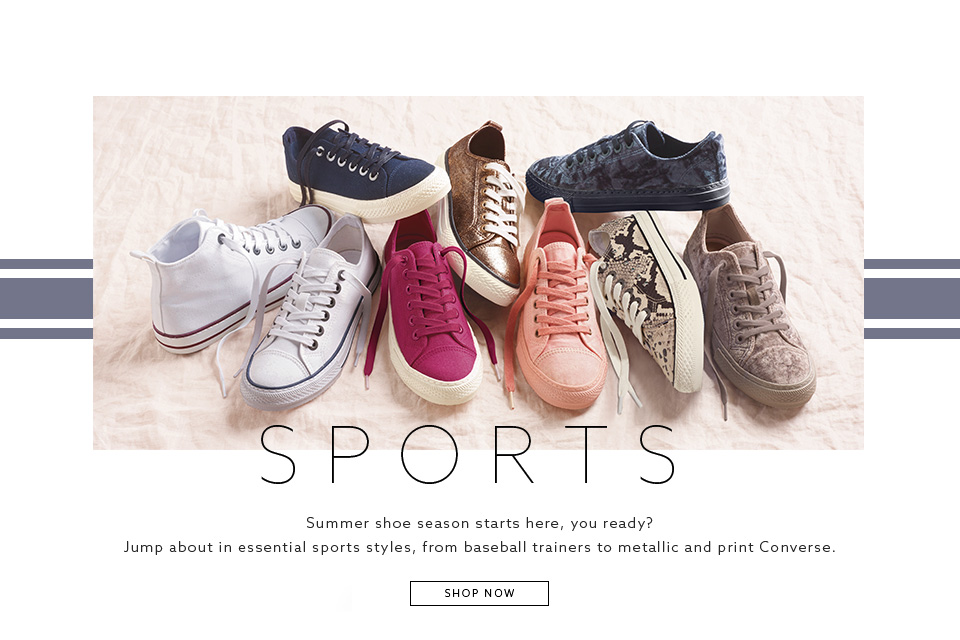Browse Womens Shoe Collections - Sports