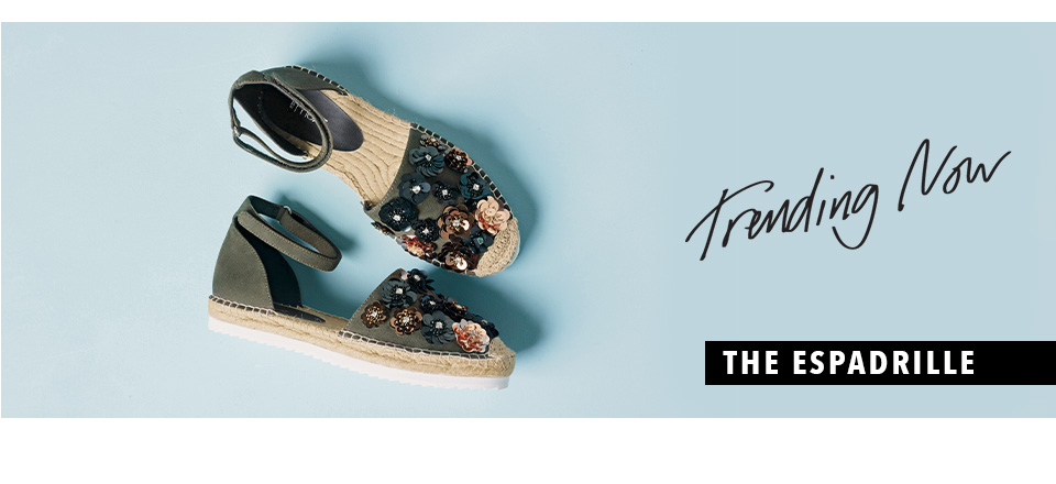 Shop Womens Shoes - The Espadrille