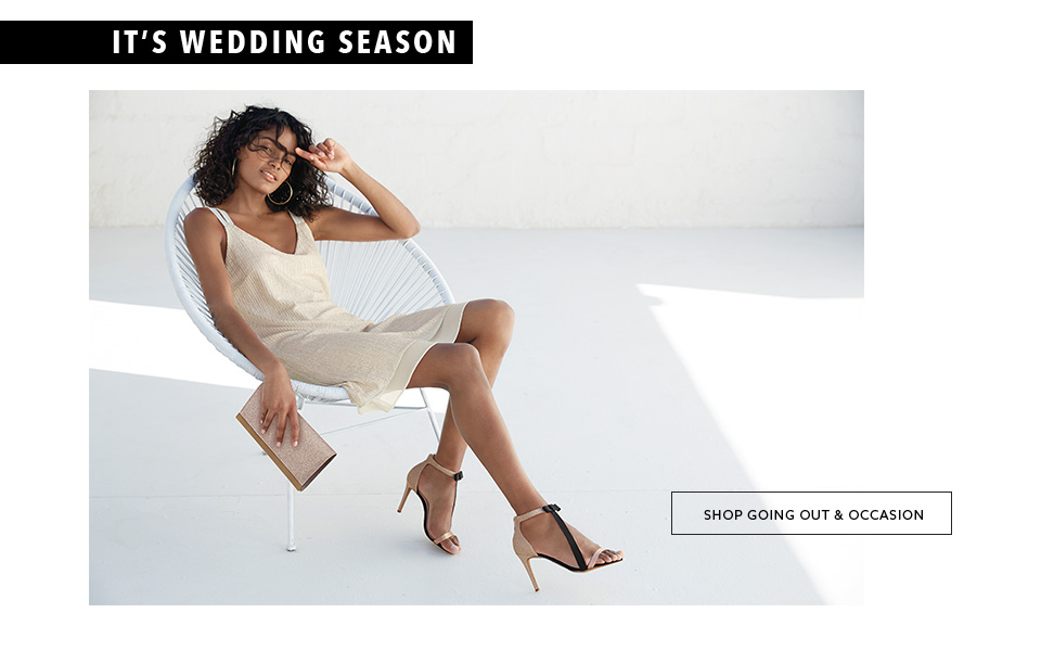 Browse the trendy collection of women going out & occasion footwear here