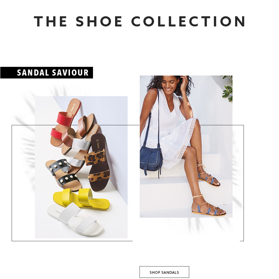 Shop here the trendy collection of women sandals now